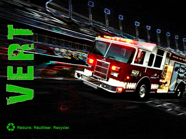 Camion Incendie Écoénergétique Pierce MAIN
