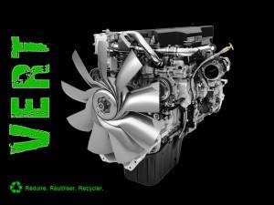 Camion incendie moteur écoénergétique