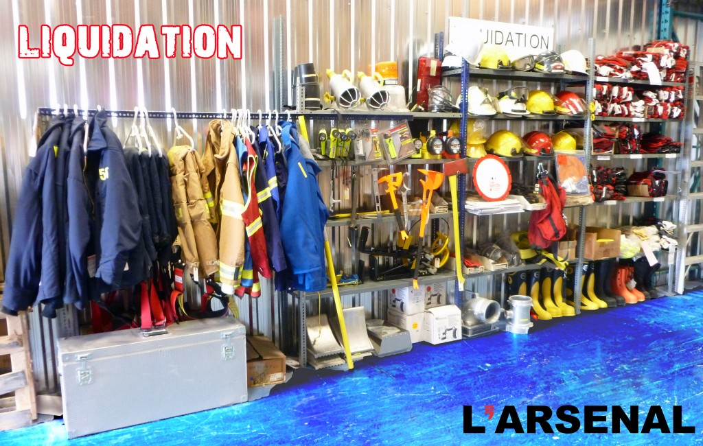 Liquidation entrepot Arsenal