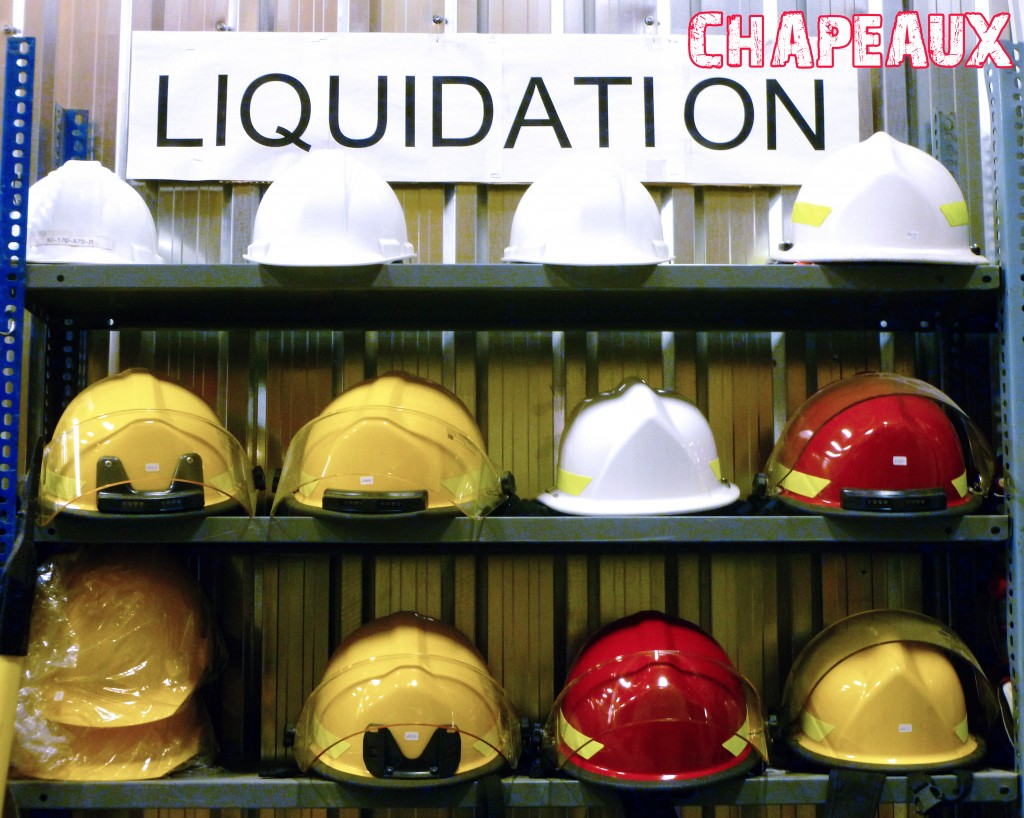 Liquidation quipement incendie for Liquidation entrepot