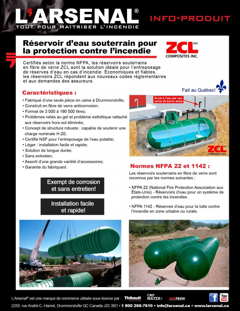 Info-produit-ZCL - réservoir d'eau