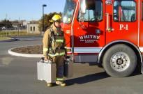 Pompier-caisson