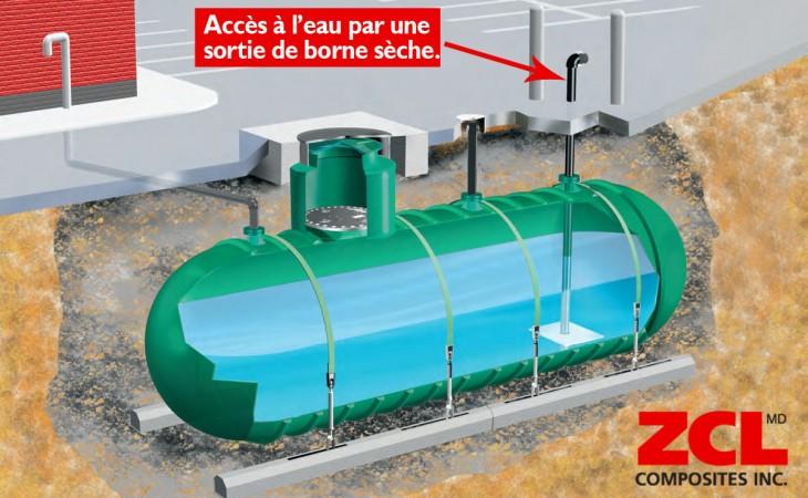 r servoir d 39 eau souterrain pour la protection contre l. Black Bedroom Furniture Sets. Home Design Ideas