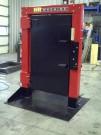 Simulateur de porte d'entrée forcée de H&R Machine