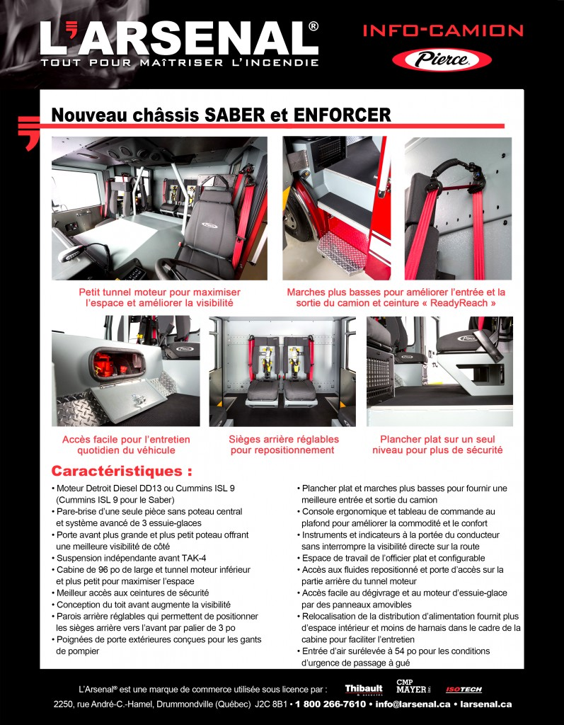 Info-Camion Enforcer VERSO