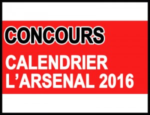 Concours calendrier edition 2016