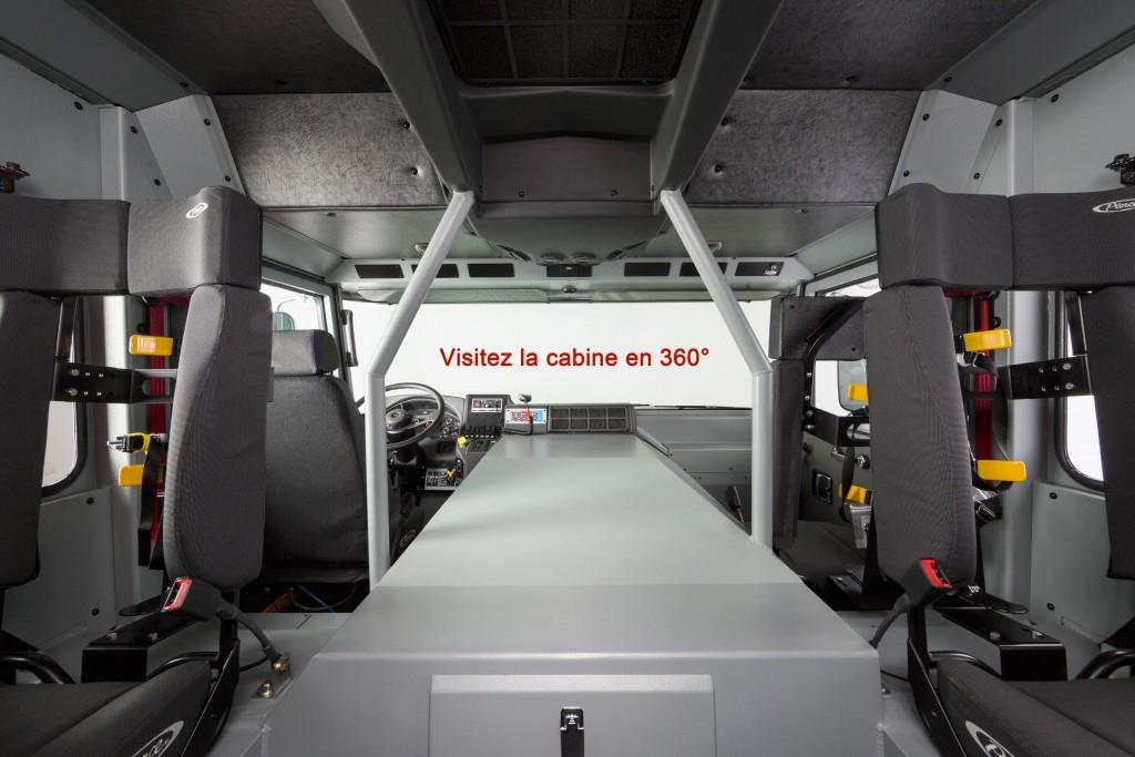 Visitez la cabine en 360