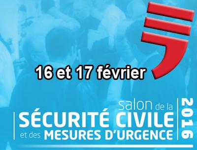 Salon sécurité civile 2016