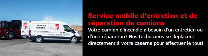 Service mobile réparations et entretien