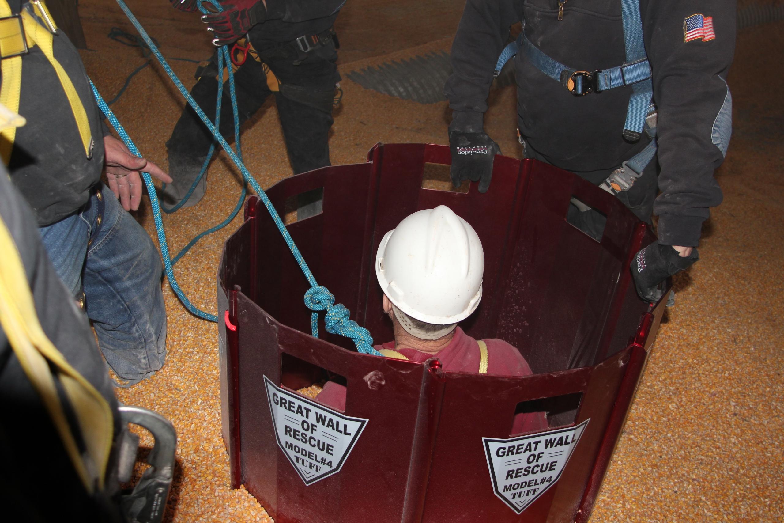 Mur de sauvetage pour silo à grains L'ARSENAL