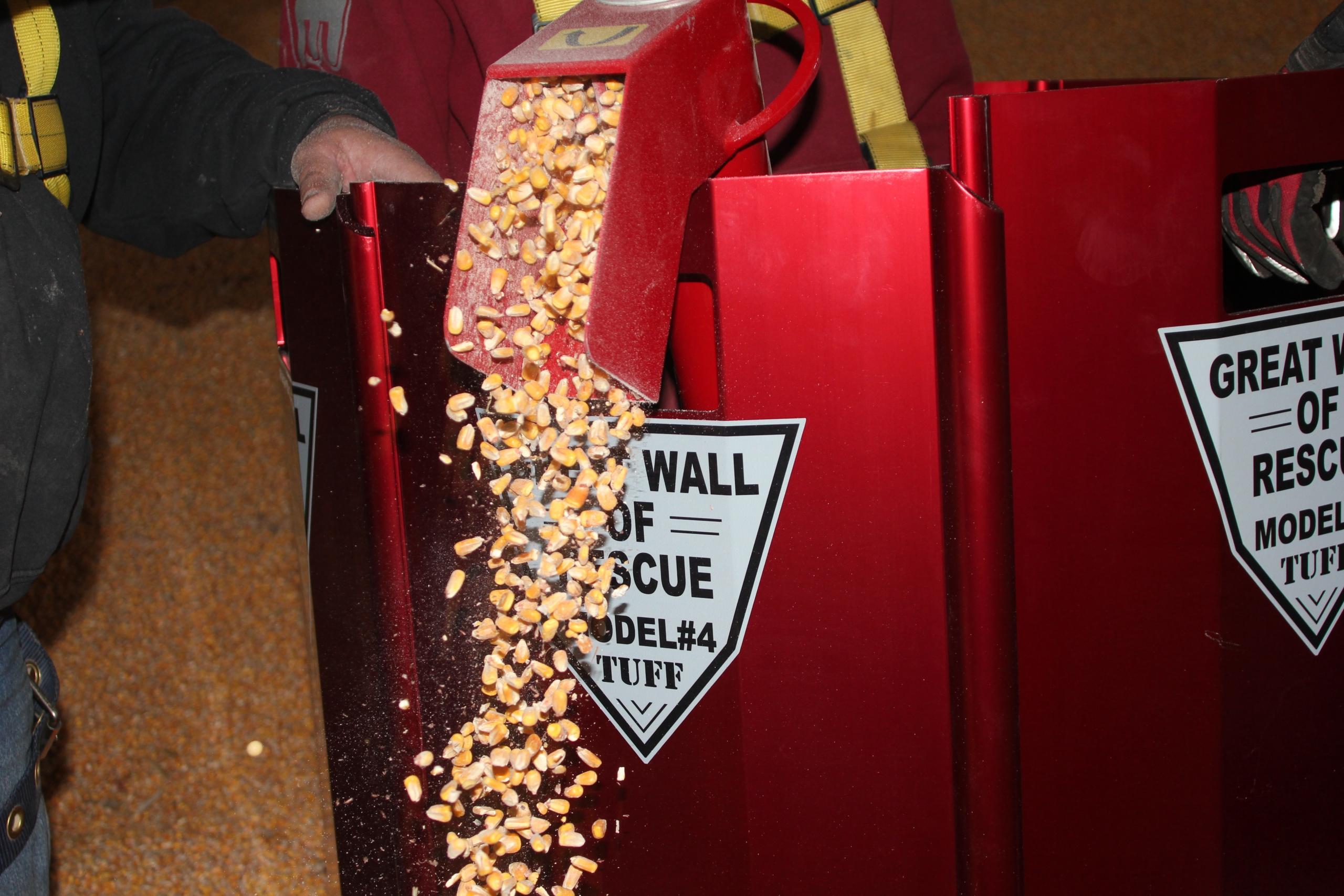 Vis à grain pour sauvetage en silo LARSENAL