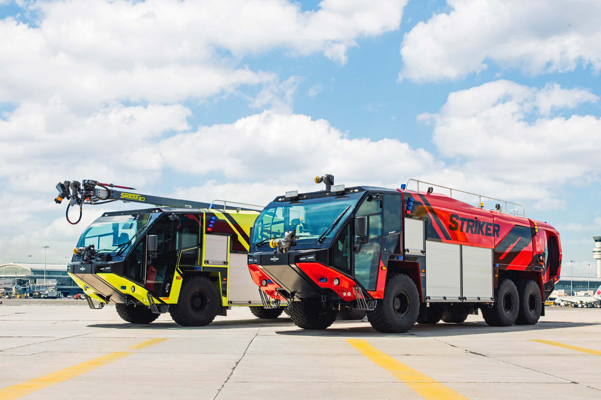 Striker de Oshkosh Airport Products (nouvelles génération de ARFF)