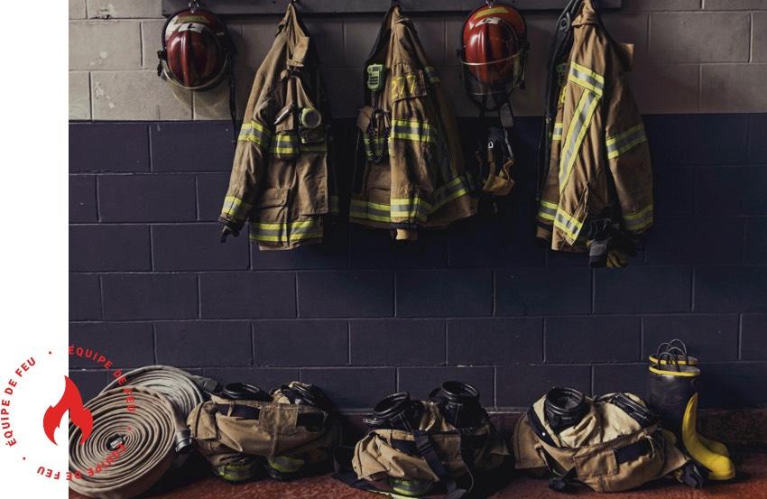 manteaux pompier